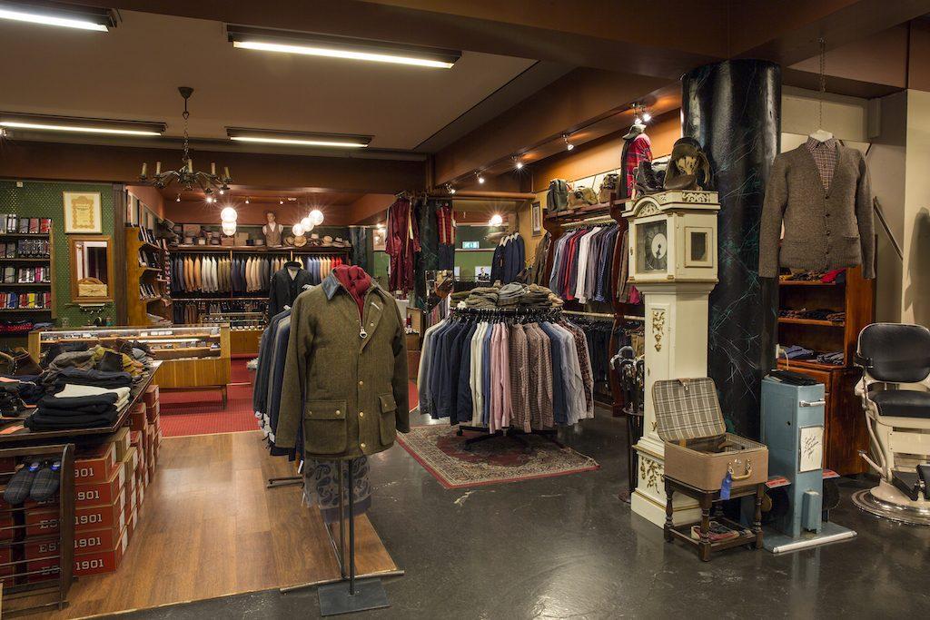 Kormákur & Skjaldar Men´s shop on Laugavegur 59   Courtesy of Kormákur & Skjaldar