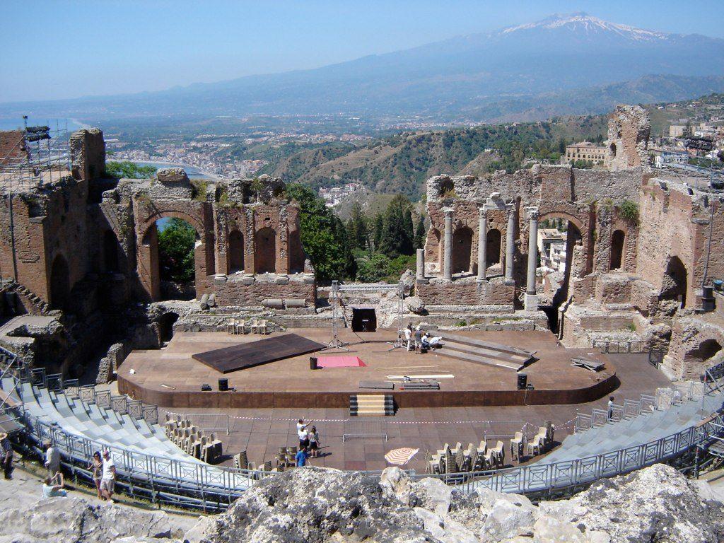 Teatro Greco, Taormina©Stef Spijkerman/Flickr