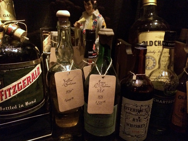 A few of the aged spirits at The Office | © Kathryn Maier