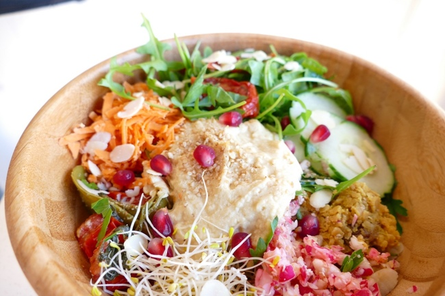 Vegan bowls from Beach Garden | © Beach Garden