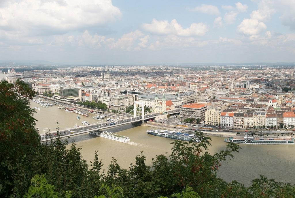Budapest panoramic view