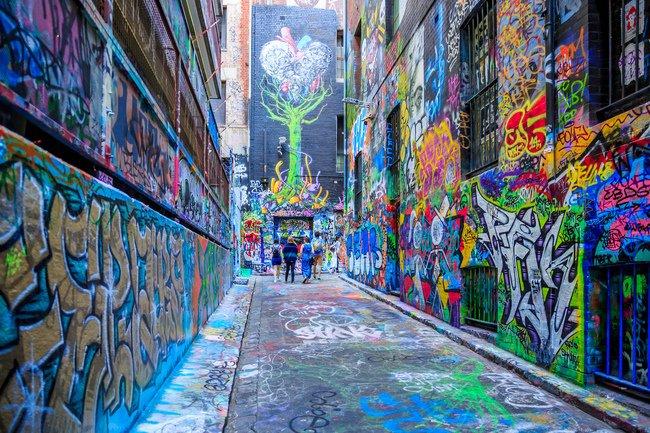 Hosier Lane, Melbourne | © LT Photography/Flickr
