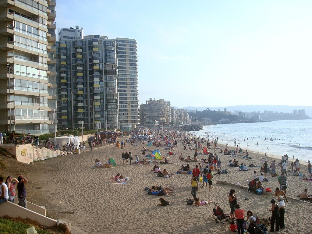 The Most Stunning Beaches In Vina Del Mar Chile
