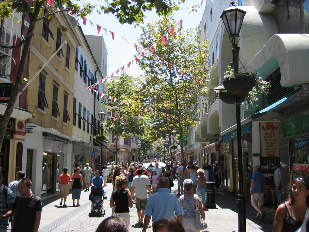 f35e8895a Gibraltar s Main Street is the place to head for souvenir shops  rp72