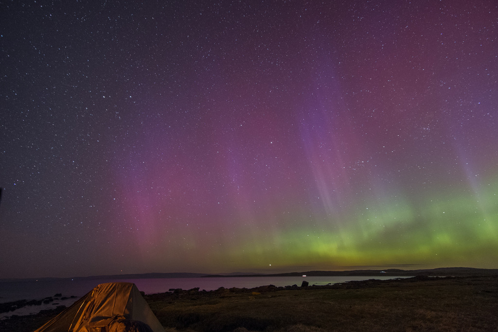 Aurora Over Scotland