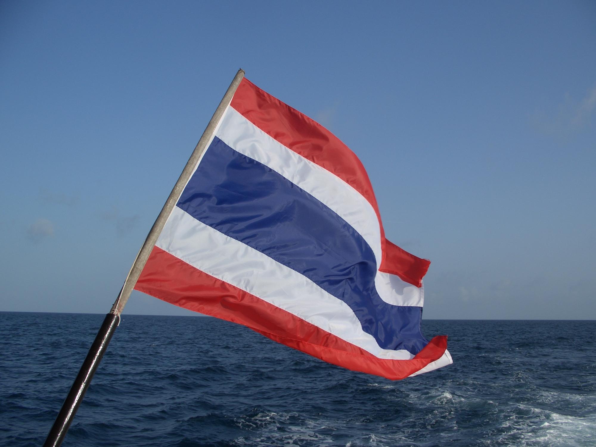 What Does Thailands Flag Symbolise
