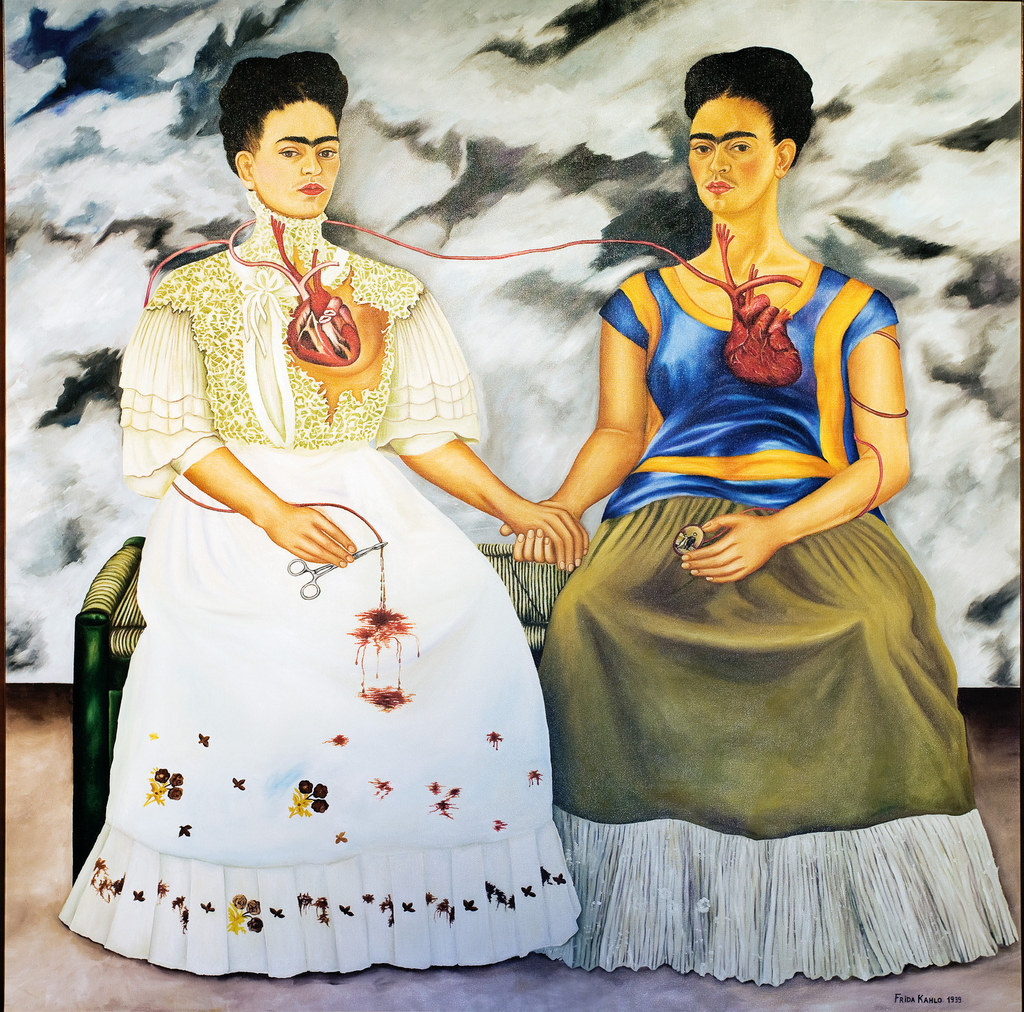 Frida Kahlo, The Two Fridas | Photo by Peter K. Levy/Flickr