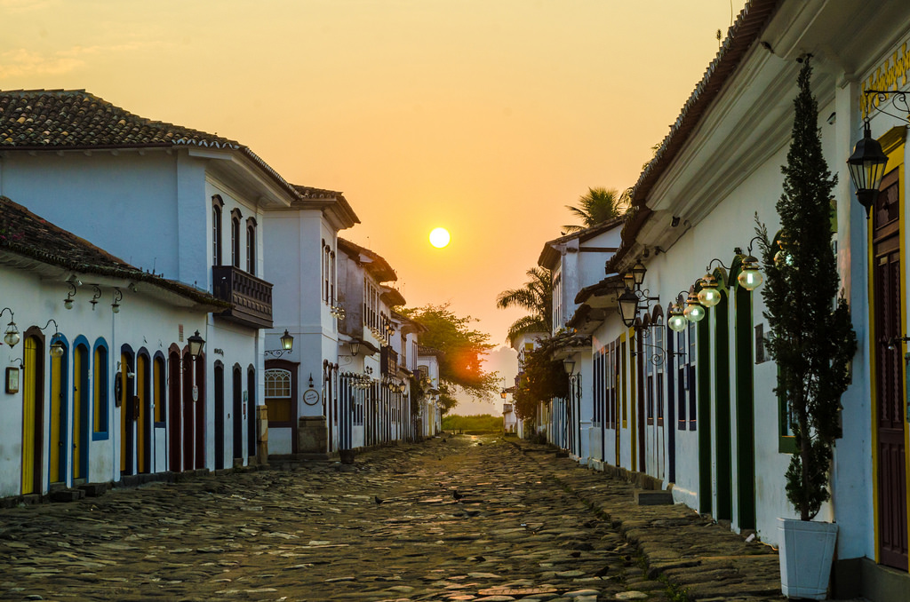 The historical centre in Paraty |© Carine Felgueiras/Flickr