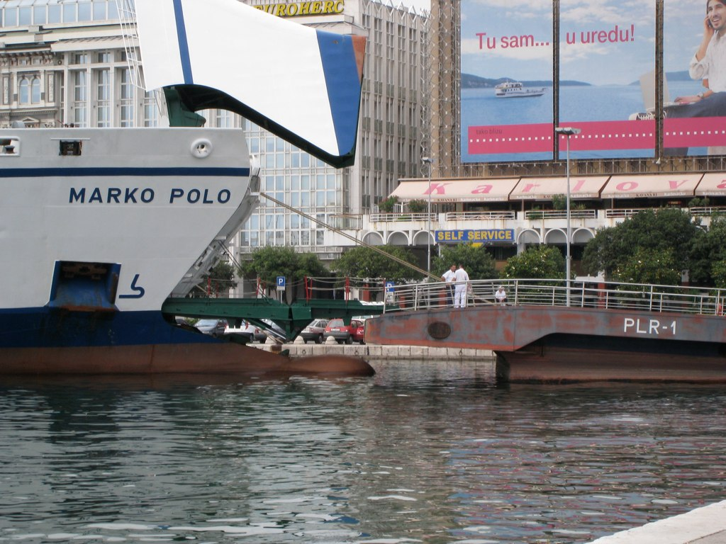 Marko Polo ship | © Nick Cope/Flickr