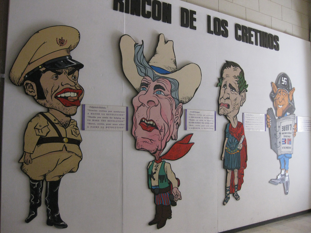 propaganda, Cuba, Museum of the Revolution
