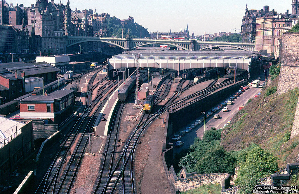 Then And Now Can You Recognise Edinburgh From These Old