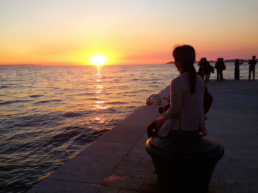 Zadar sunset | © Patty Ho/Flickr