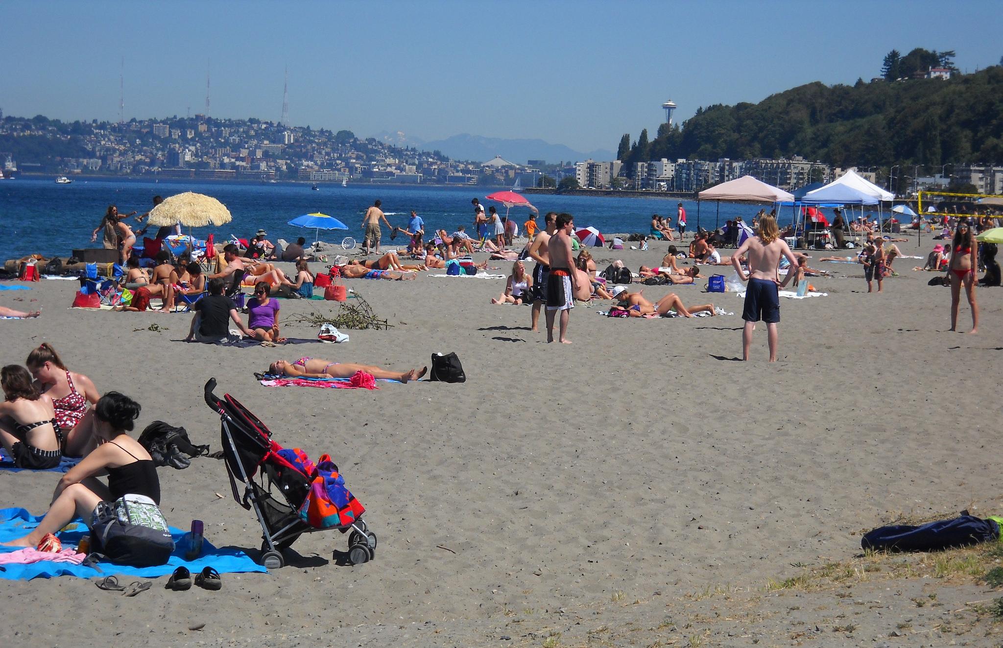Alki Beach Park | © Seattle Parks/Flickr