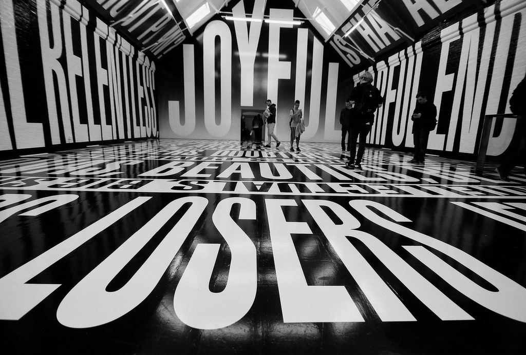 Barbara Kruger, Modern Art Oxford   © Jun/Flickr
