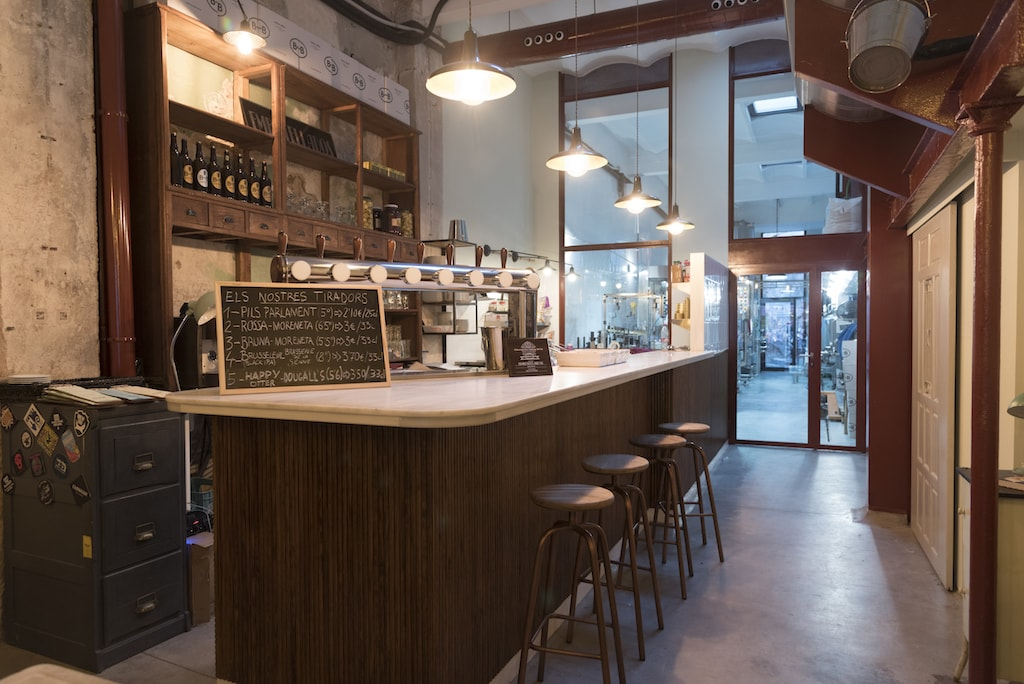 Inside BarnaBrew on Parlament Street Courtesy of BarnaBrew