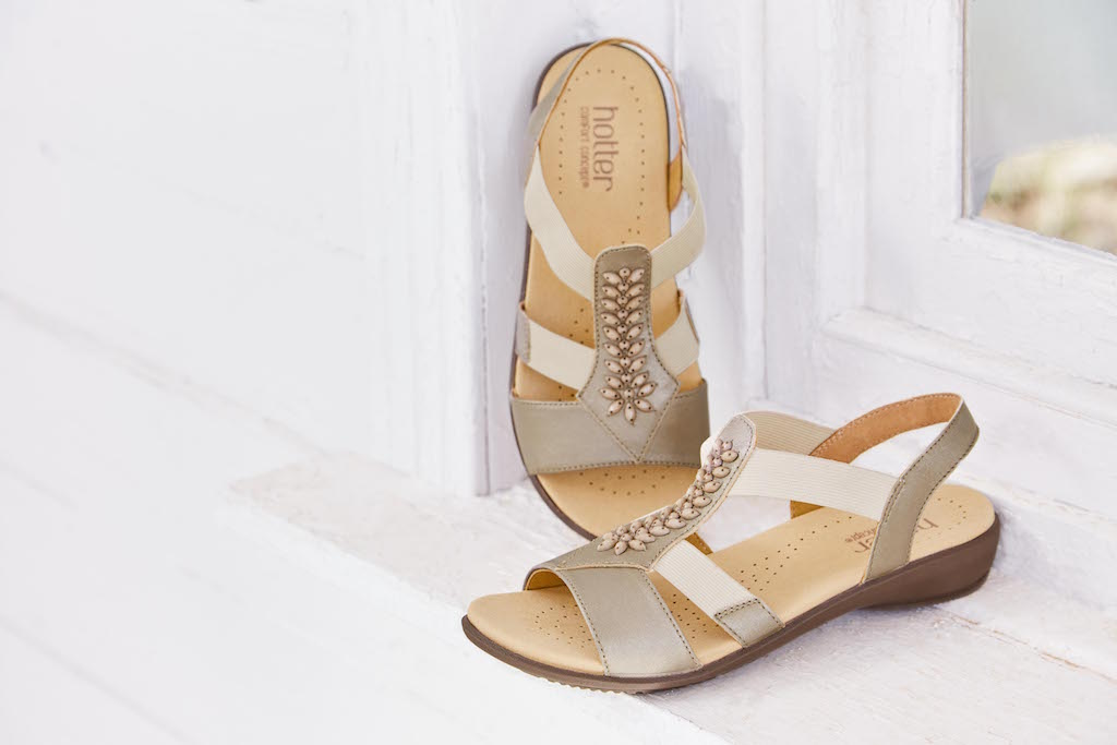 Beam Sandals Courtesy Of Hotter Shoes