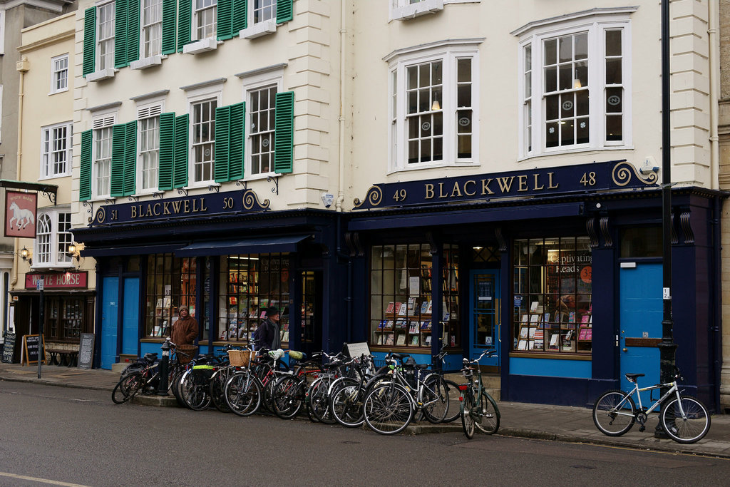 Blackwell's of Oxford | © Peter Trimming/Flickr