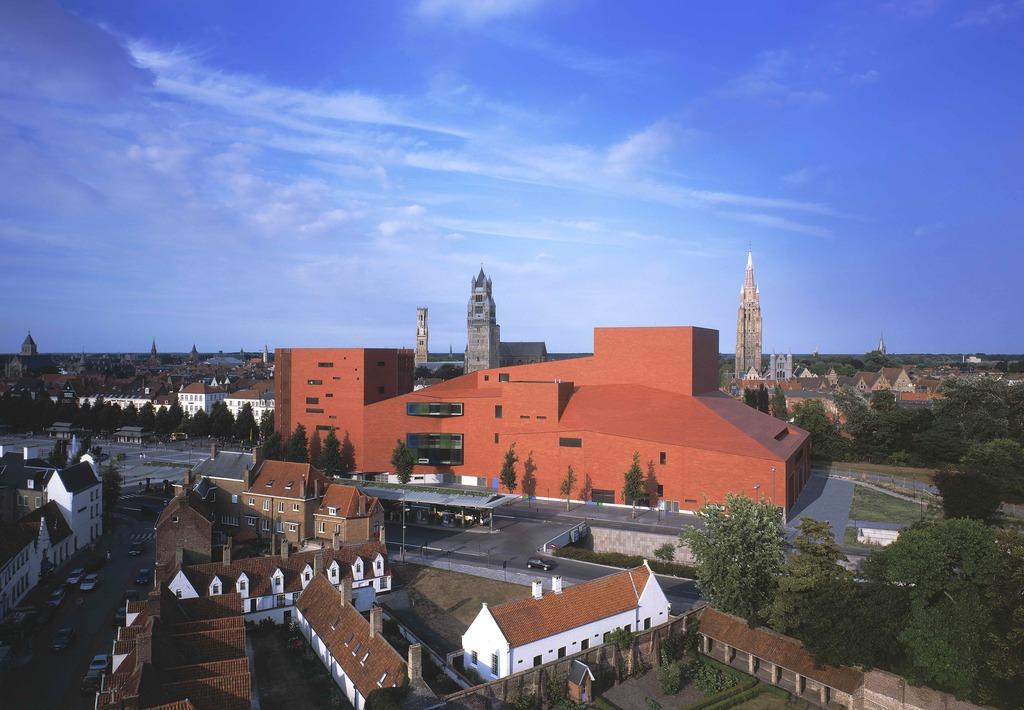 Bruges' Concert Building | © Stad Brugge / courtesy of Visit Bruges