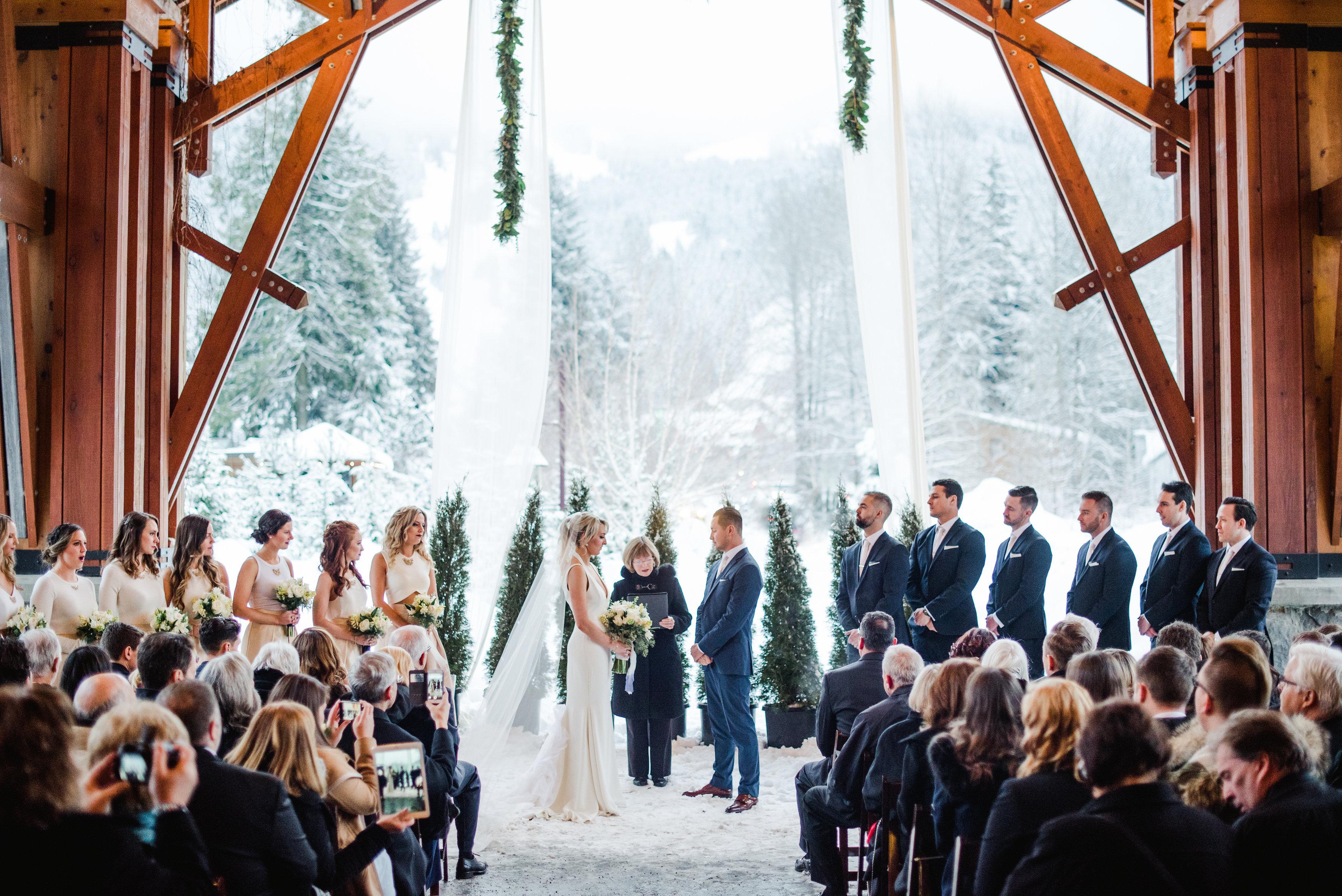A Winter Ceremony At Nita Lake Lodge Christie Graham