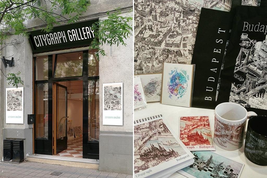 Citygraph Budapest prints