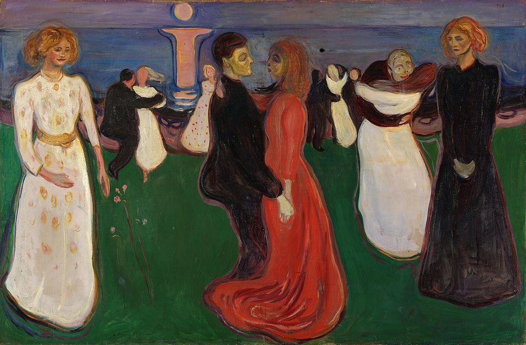 Edvard Munch, Dance of Life (1899-1900) | Photo via WikiCommons