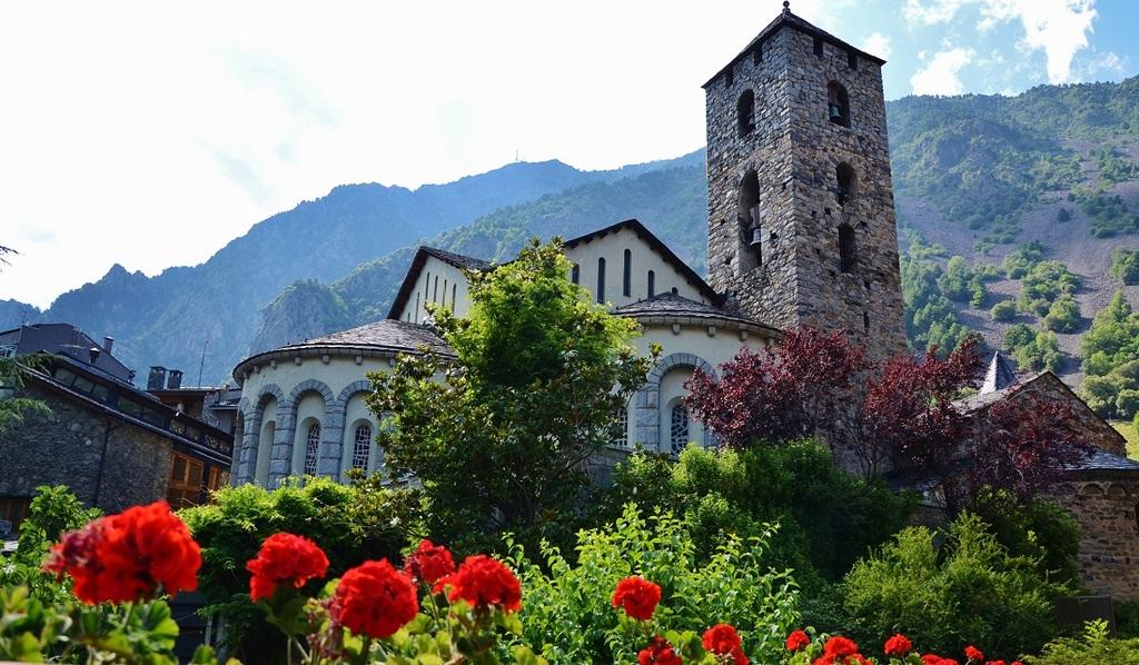 Església de Sant Esteve, Andorra | ©MARIA ROSA FERRE / Wikimedia Commons