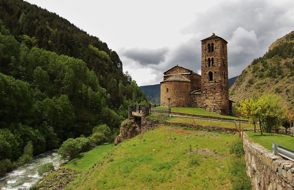 Església de Sant Joan de Caselles, Andorra | © MARIA ROSA FERRE / Wikimedia Commons