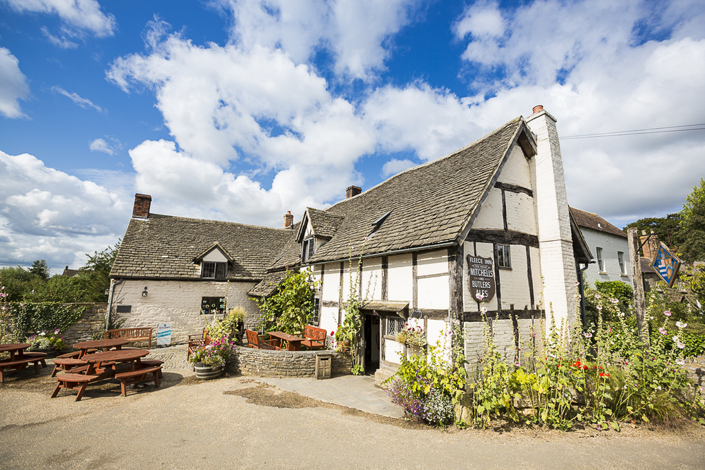The Fleece Inn | © Jamie Burrell Photography/Courtesy of The Fleece Inn