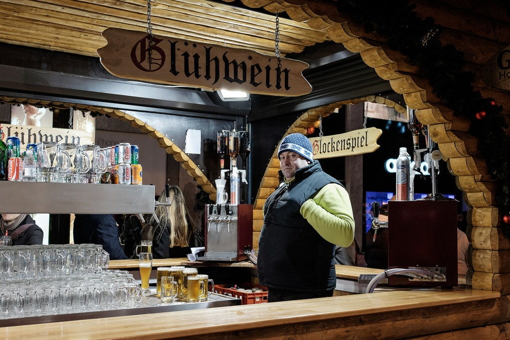 Gluwein, German Market