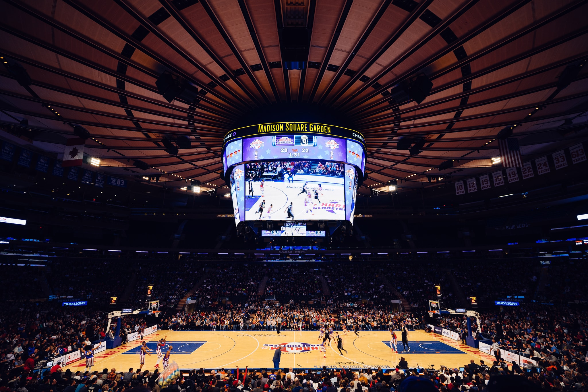 10 things you didn t know about new york city s madison square garden Madison square garden basketball