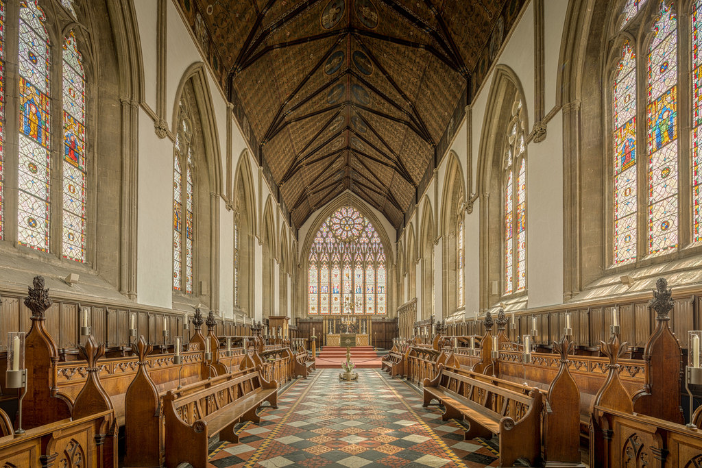Merton College Chapel   © Michael D Beckwith/Flickr