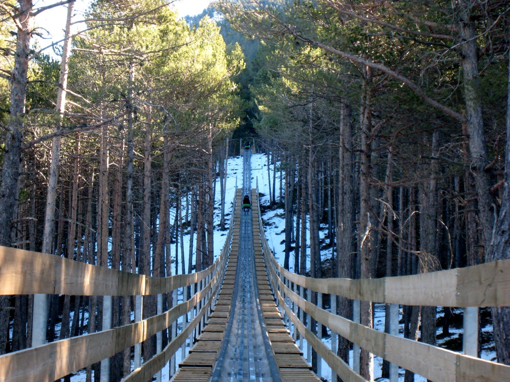 Mountain toboggan, Andorra | ©Jorge Correa / Flickr
