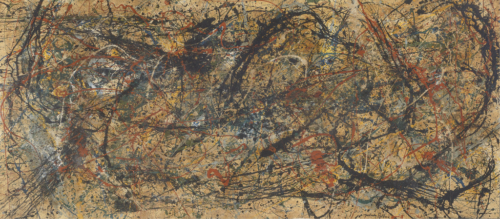 Work in the style of Jackson Pollock | Private Collection/Image courtesy of Winterthur Museum