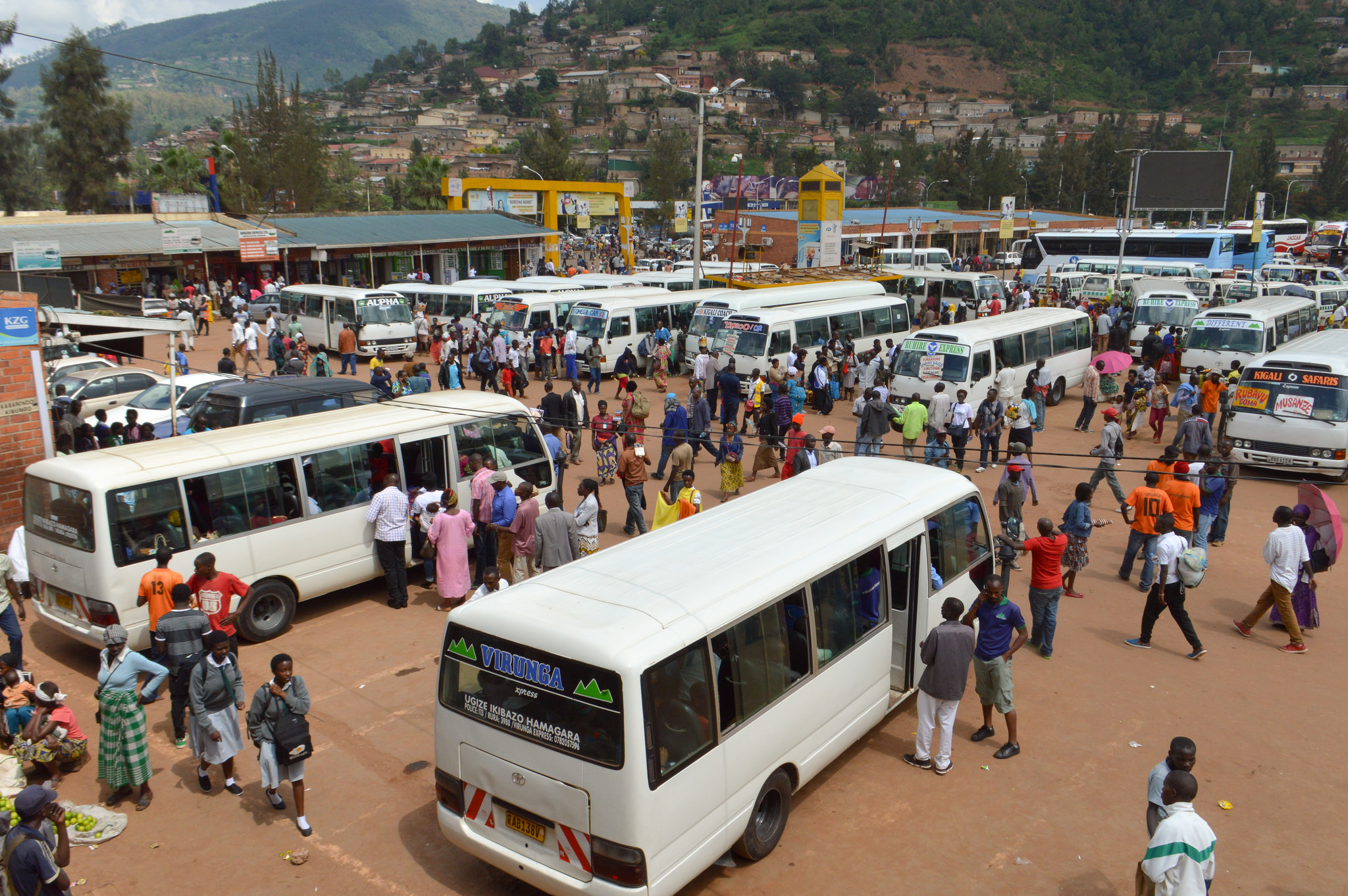 Nyabugogo bus station