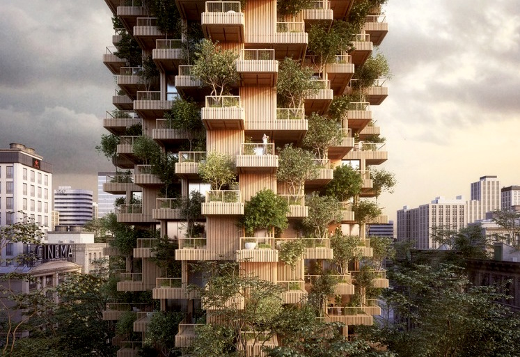 This Breathtaking Tree Tower Is The Changing Face Of