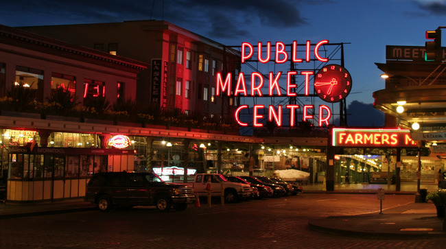 Pike Place | © Michael Righi/Flickr