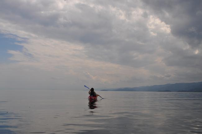 Kayaking Lake Kivu | Courtesy of Leah Feiger