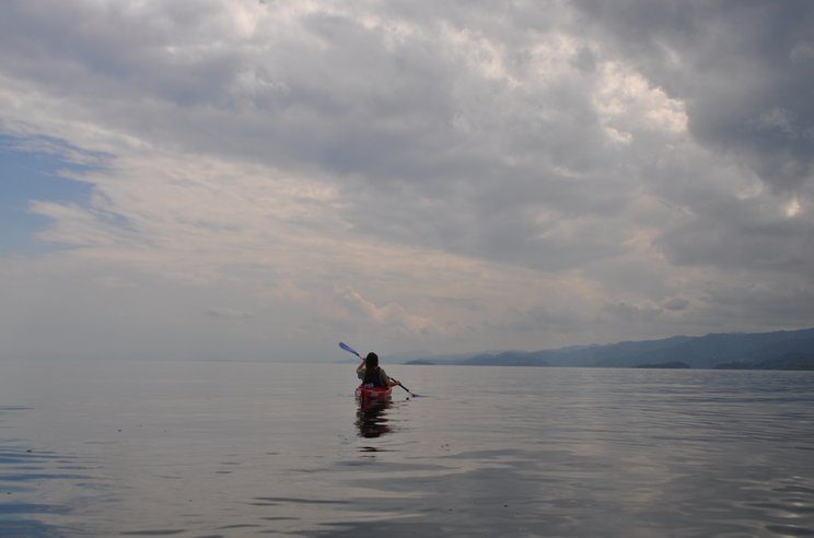 Kayaking Lake Kivu