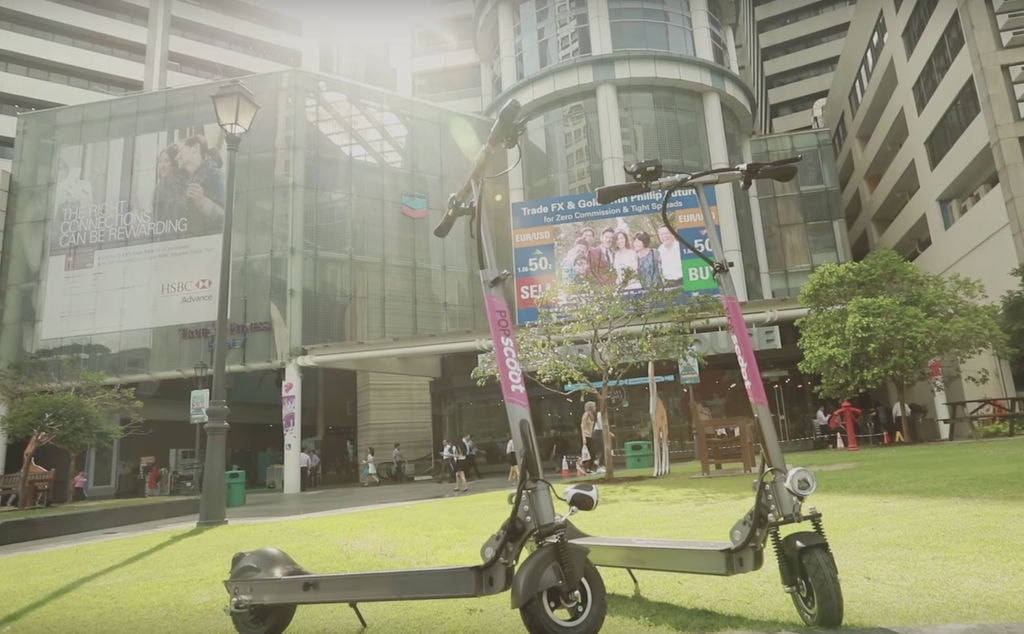 Scooter Sharing Services Surface In Singapore