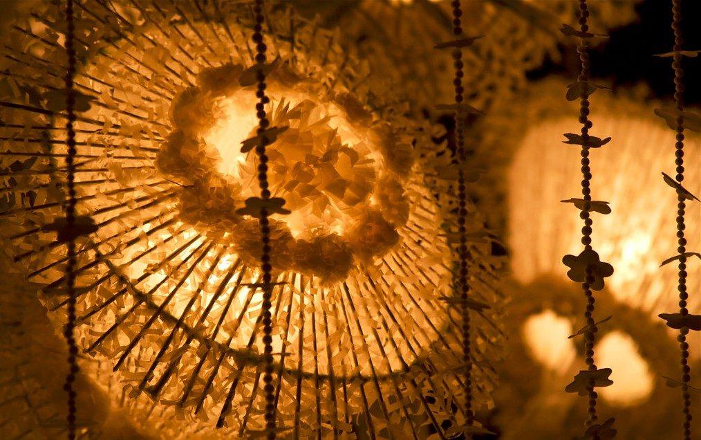 Lanterns at Gangaramaya Temple, Colombo | © Anthony C Shehal/Flickr