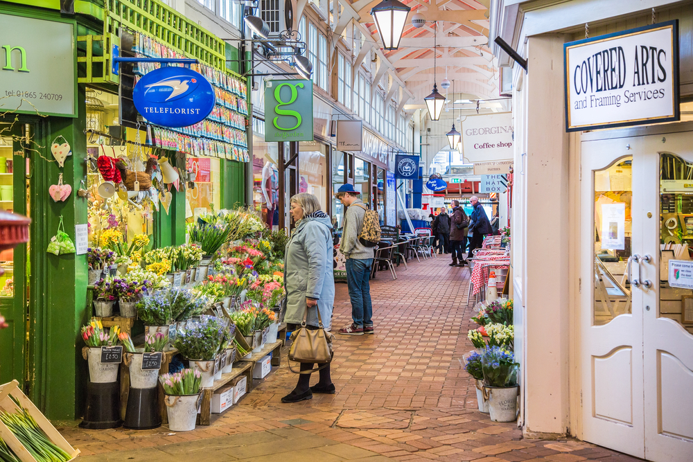 The Covered Market, Oxford | © CBCK/Shutterstock