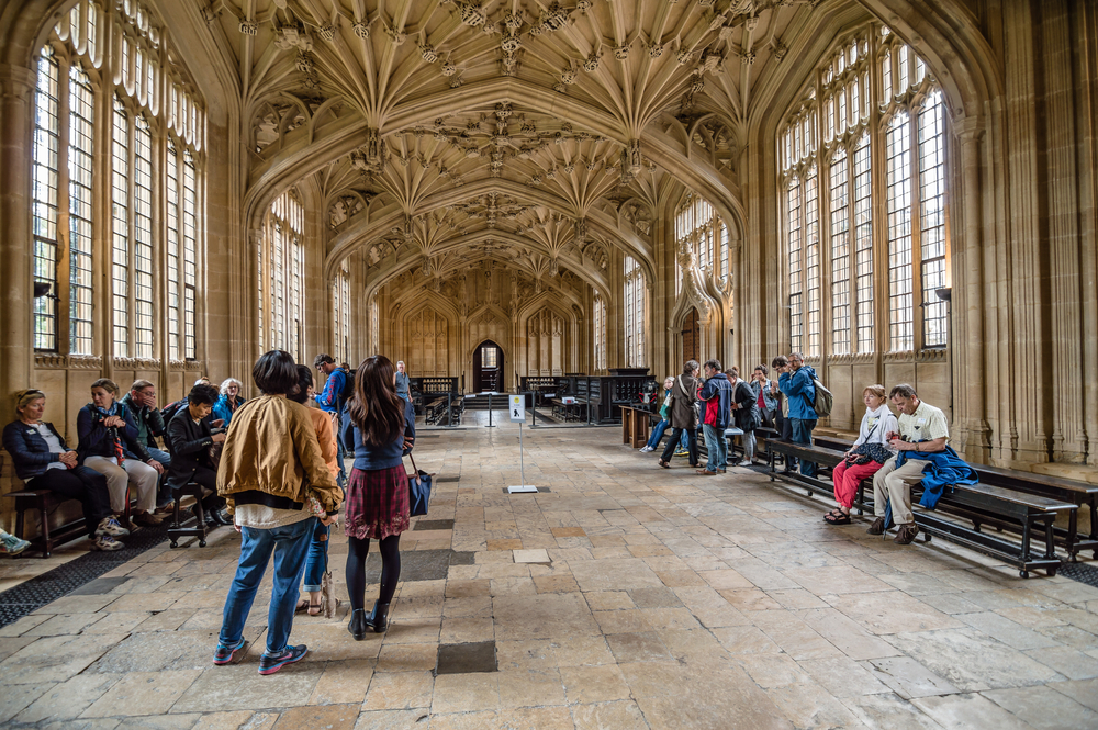 Interior of Bodleian Library   © JJFarq/Shutterstock