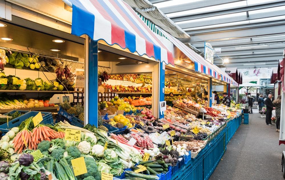 Carslplatz Market, Dusseldorf, Germany   © Axel Fischer/Shutterstock