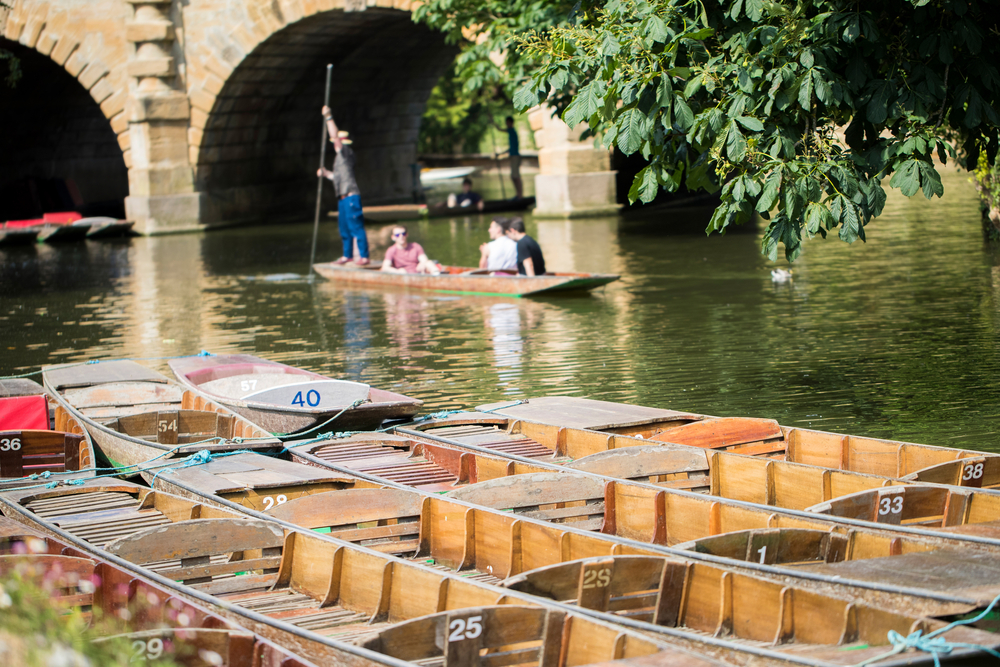 Punting on the River Cherwell | © Daisy Daisy/Shutterstock