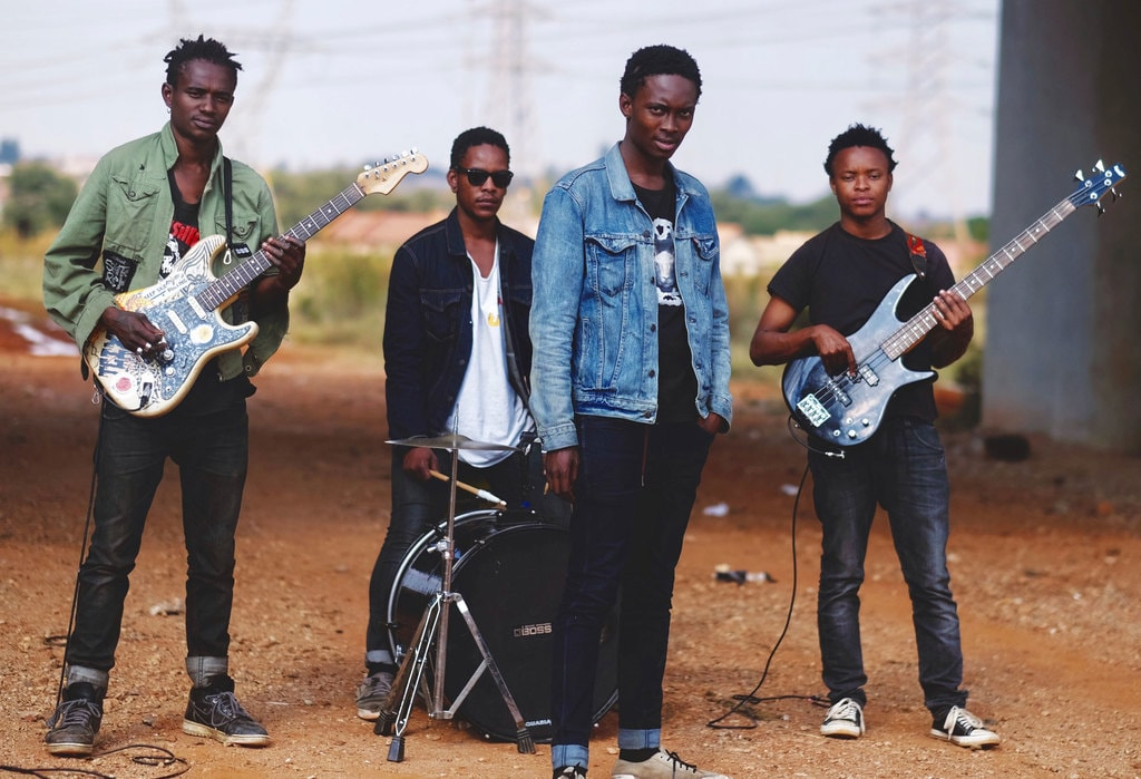 South African punk band TCIYF