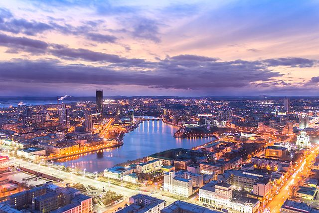 The Top Attractions In Yekaterinburg Russia
