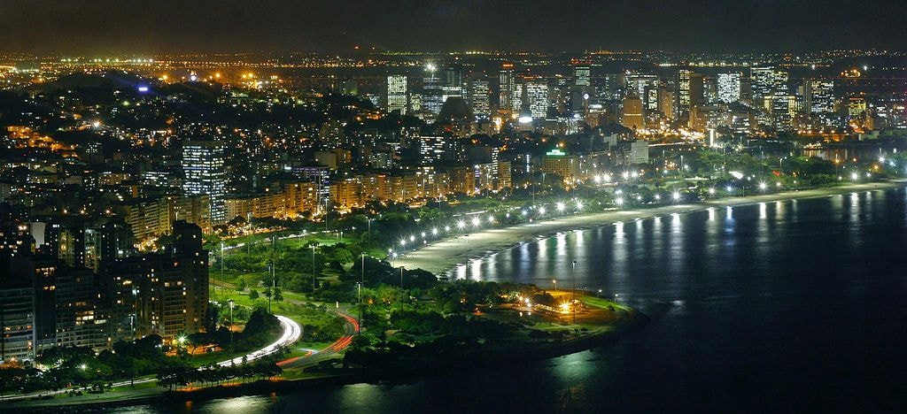 Aterro do Flamengo at night | © Kirilos/WikiCommons