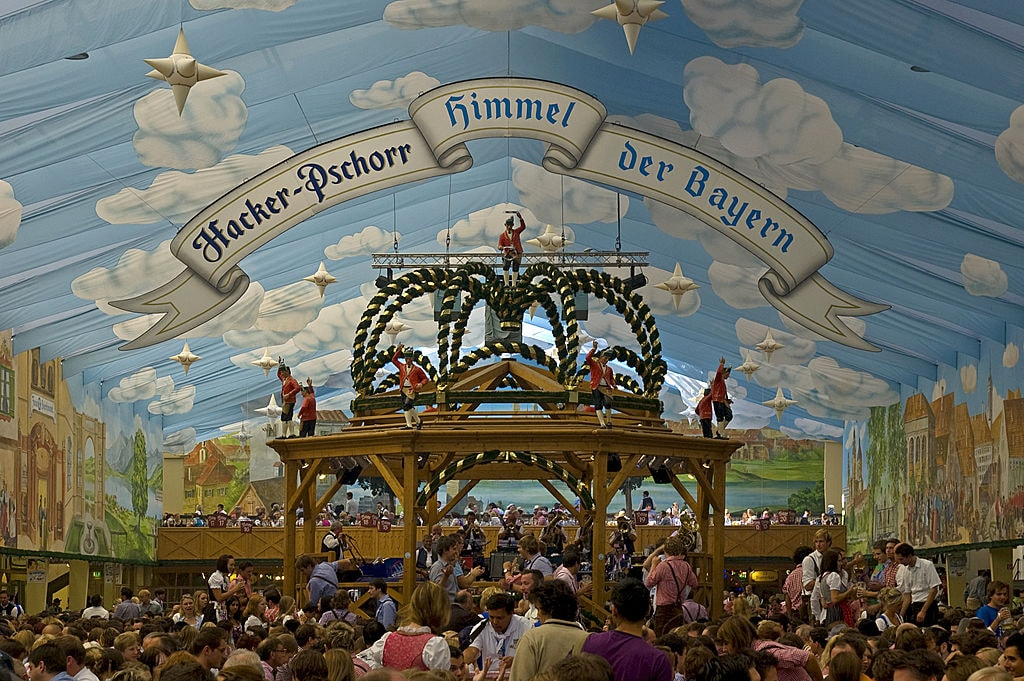 Hacker Festzelt at Oktoberfest ... & Oktoberfest: The Essential Guide To Germanyu0027s Beer Tents
