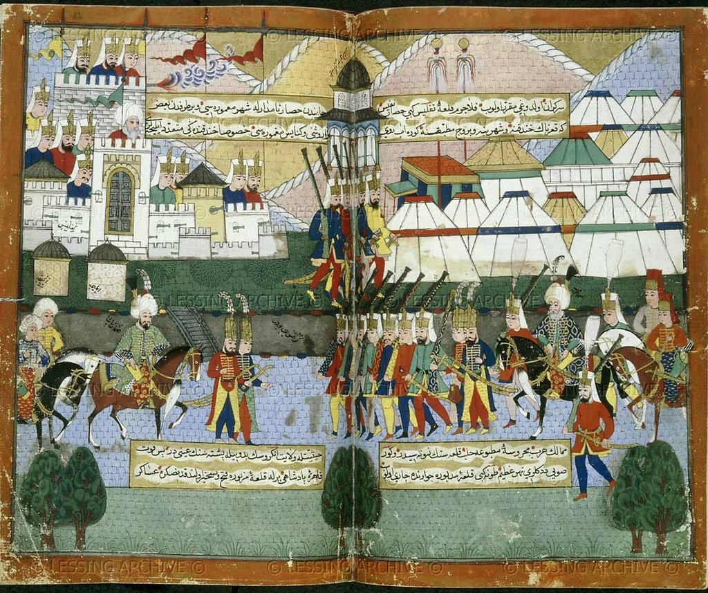 Miniatures, Marbling, and Calligraphy: A Look at Traditional Turkish Art