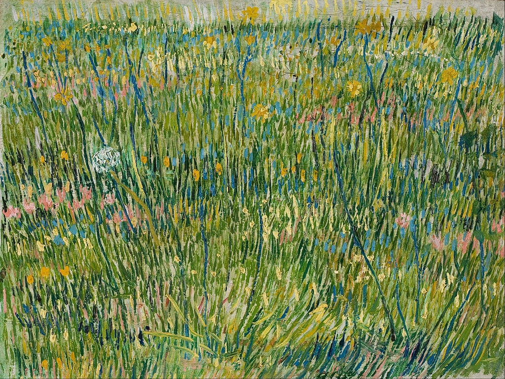 Vincent van Gogh, Patch of Grass (1887) | Source: Google Cultural Institute/WikiCommons